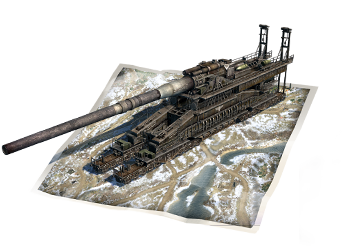 Premium mission<br>with Dora railway gun